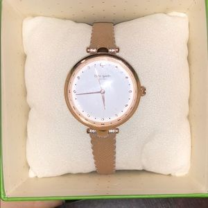 Kate spade gold watch NEW!